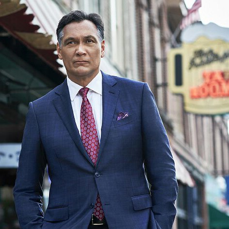 "Preview image for article: Jimmy Smits Makes the Case for NBC's New Legal Drama ""Bluff City Law"""