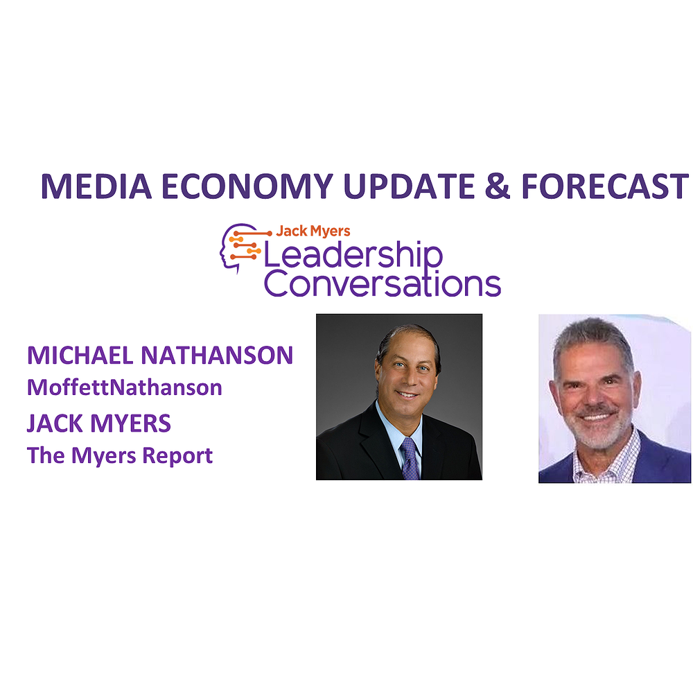 Preview image for article: Media Industry Analysts Michael Nathanson and Jack Myers  Forecast 2021 Media Economy - Tuesday, October 6 at 1:30pm ET