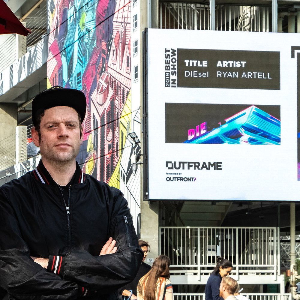 Preview image for article: OUTFRAME Contest Is an Opportunity for Artists to Leave Their Mark Through OOH
