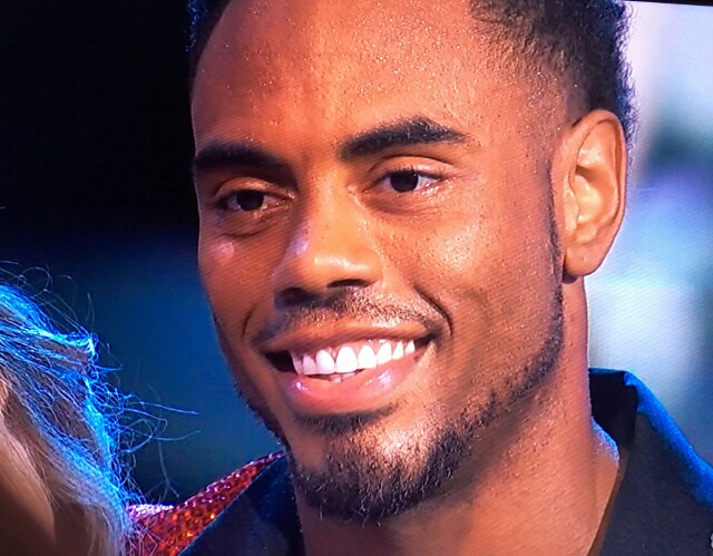 "Cover image for  article: ""DWTS"":  Backstage with Rashad Jennings, David Ross, Normani Kordei"