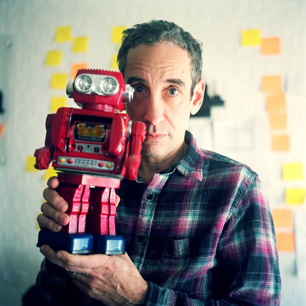Preview image for article: Douglas Rushkoff -- Fighting for #TeamHuman