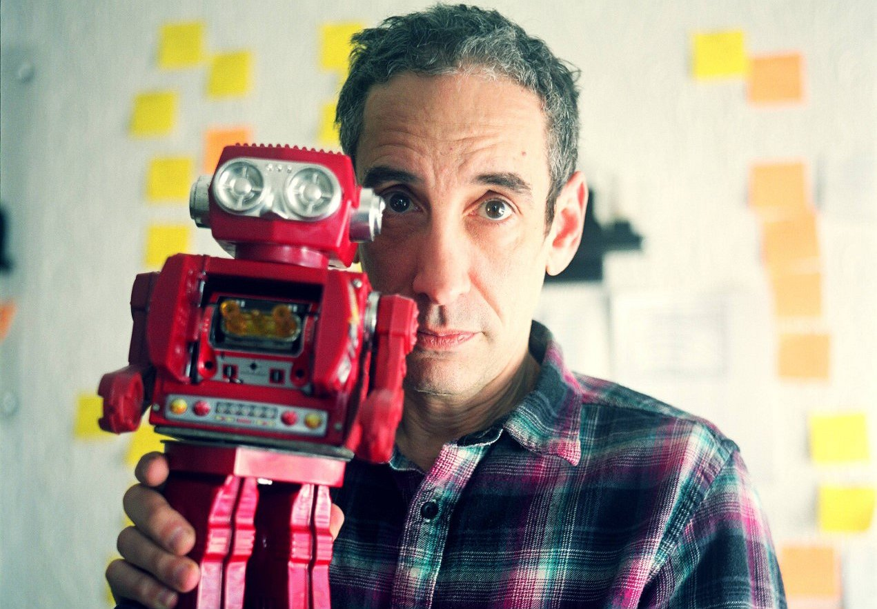 Douglas Rushkoff -- Fighting for #TeamHuman