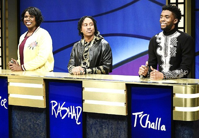 """Black Panther"" Bonus: ""Saturday Night Live"" Brings T'Challa to ""Black Jeopardy"""