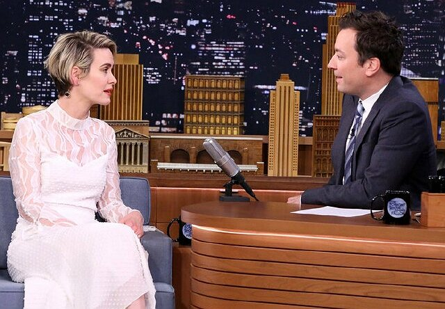 Sarah Paulson, Kate McKinnon on NBC Late Night: Top 25 Shows of 2016, No. 24