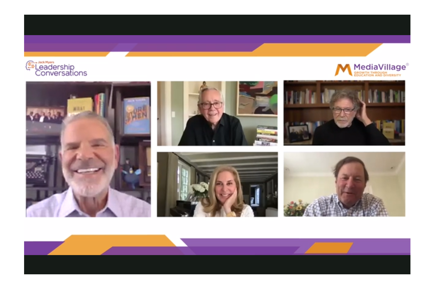 "Watch Now: ""Confronting Ageism in Media and Advertising"": Dychtwald, Feldman, Reinhard, Hubbell Join Jack Myers Leadership Conversation logo"