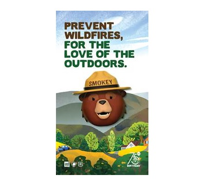 Cover image for  article: Celebrities Voice a New Campaign in Honor of Smokey Bear's 75th Birthday