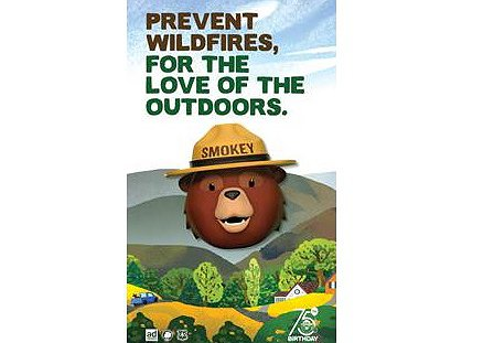 Celebrities Voice a New Campaign in Honor of Smokey Bear's 75th Birthday