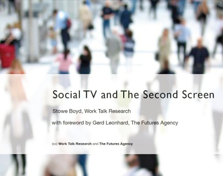 Cover image for  article: TV Moves to Supporting Role in Social TV Era