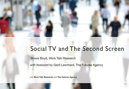 Social TV and the Second Screen PDF Report for Download