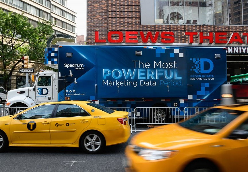 "Spectrum Reach Hits the Road with ""Driven By Data"" Cross-Country Campaign"