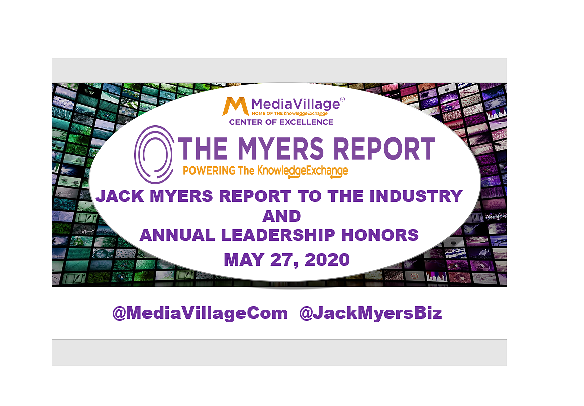 Jack Myers Report to the Industry Identifies Keys to Growth Ahead