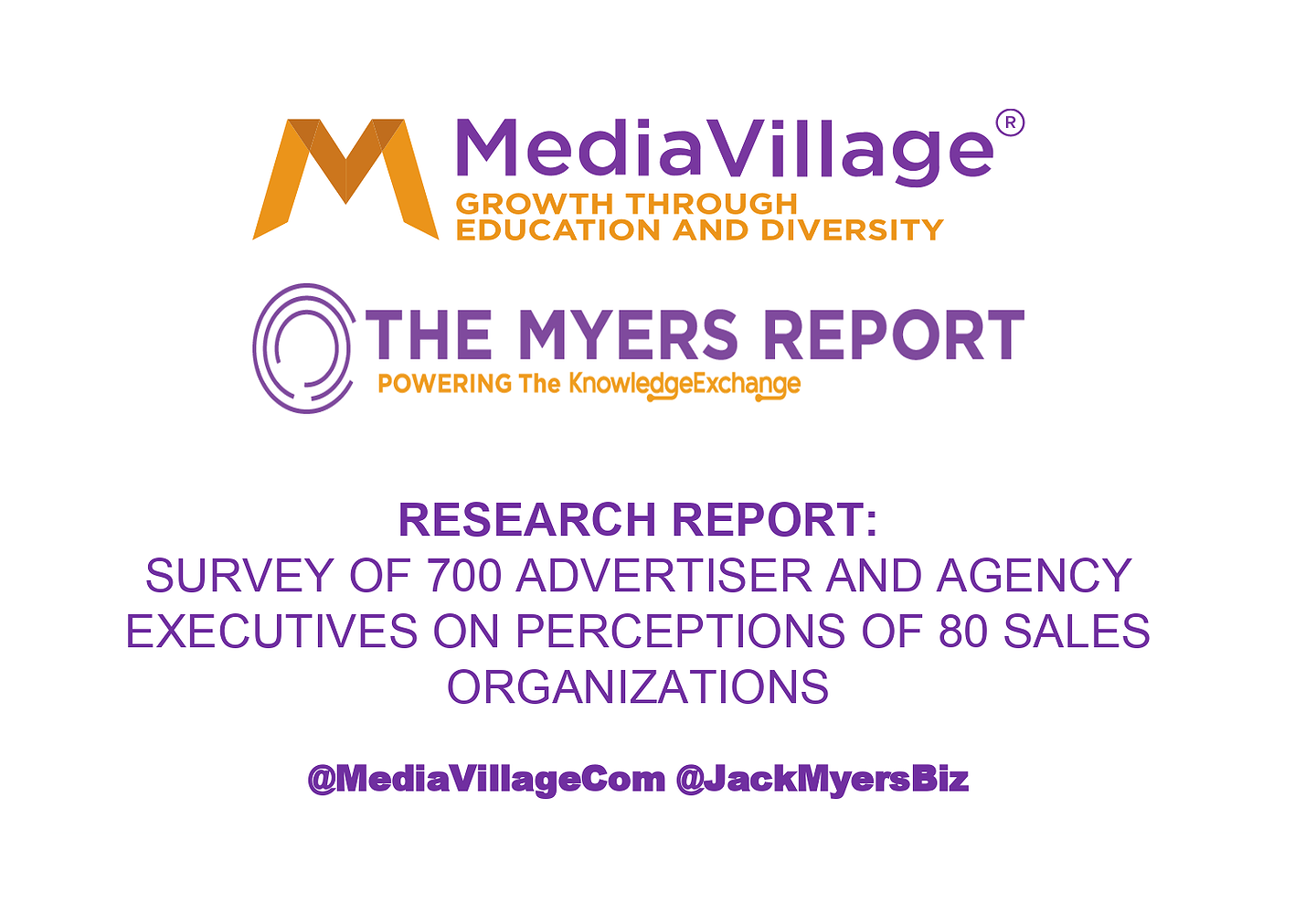 The Myers Report Advertising Perceptions