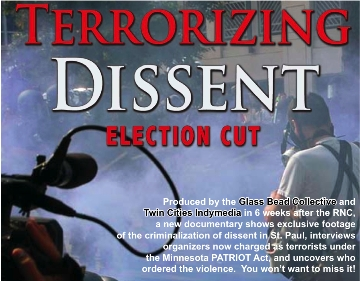 Cover image for  article: Defining Terrorism Down: A New Film Cautions Us Not To Put The Republican National Convention Behind Us - Jerry Weinstein - MediaBizBlogger