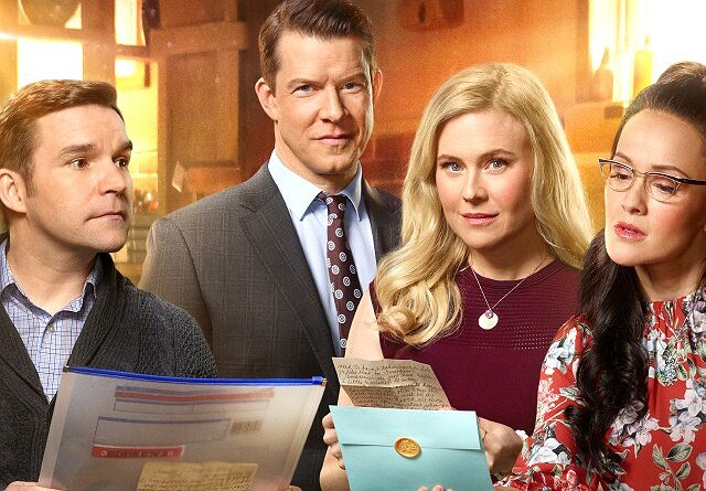 """Signed, Sealed, Delivered"" Stars Kristin Booth and Crystal Lowe on Their New Movie"