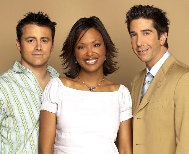 "Cover image for  article: Aisha Tyler:  Forever a Friend of ""Friends"""