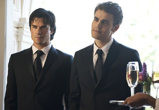"Ian Somerhalder and Paul Wesley Bid Farewell to ""The Vampire Diaries"""