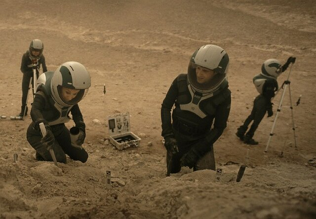 "Nat Geo's ""Mars"":  Life on the Red Planet Has Some Seeing Green"