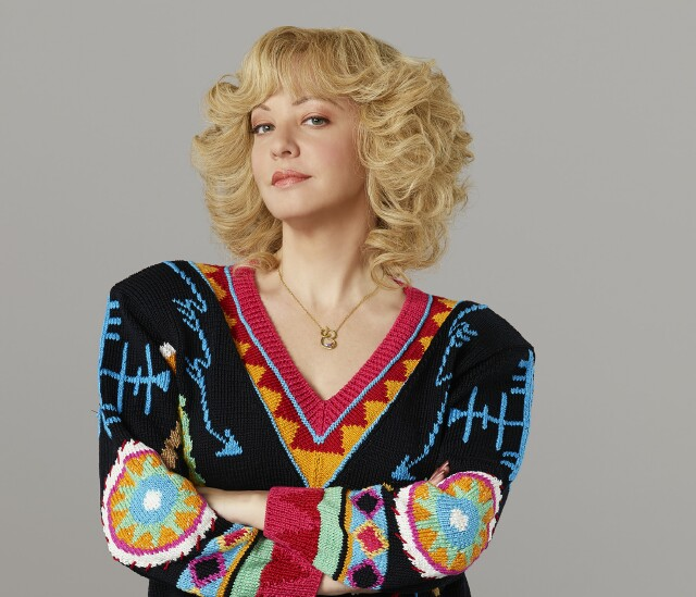 "Cover image for  article: Wendi McLendon-Covey of ""The Goldbergs"": ""We're Almost at Syndication, Baby!"""