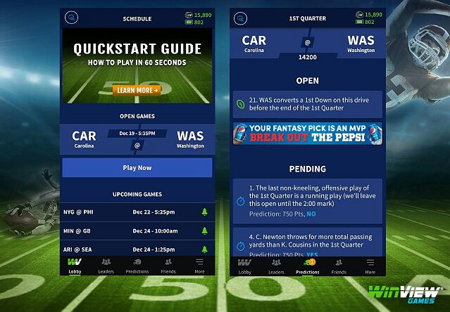 WinView Play-Along App Synchronizes with Live TV Sports
