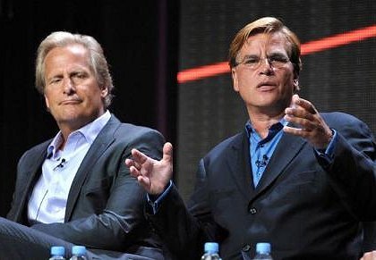"HBO at TCA: Aaron Sorkin Hears from His Critics in a Session for ""The Newsroom"" - Ed Martin"