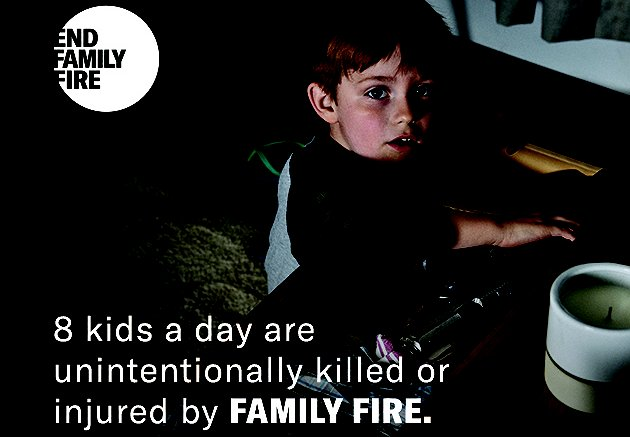 "Ad Council Enlists the Media Industry to ""End Family Fire"""