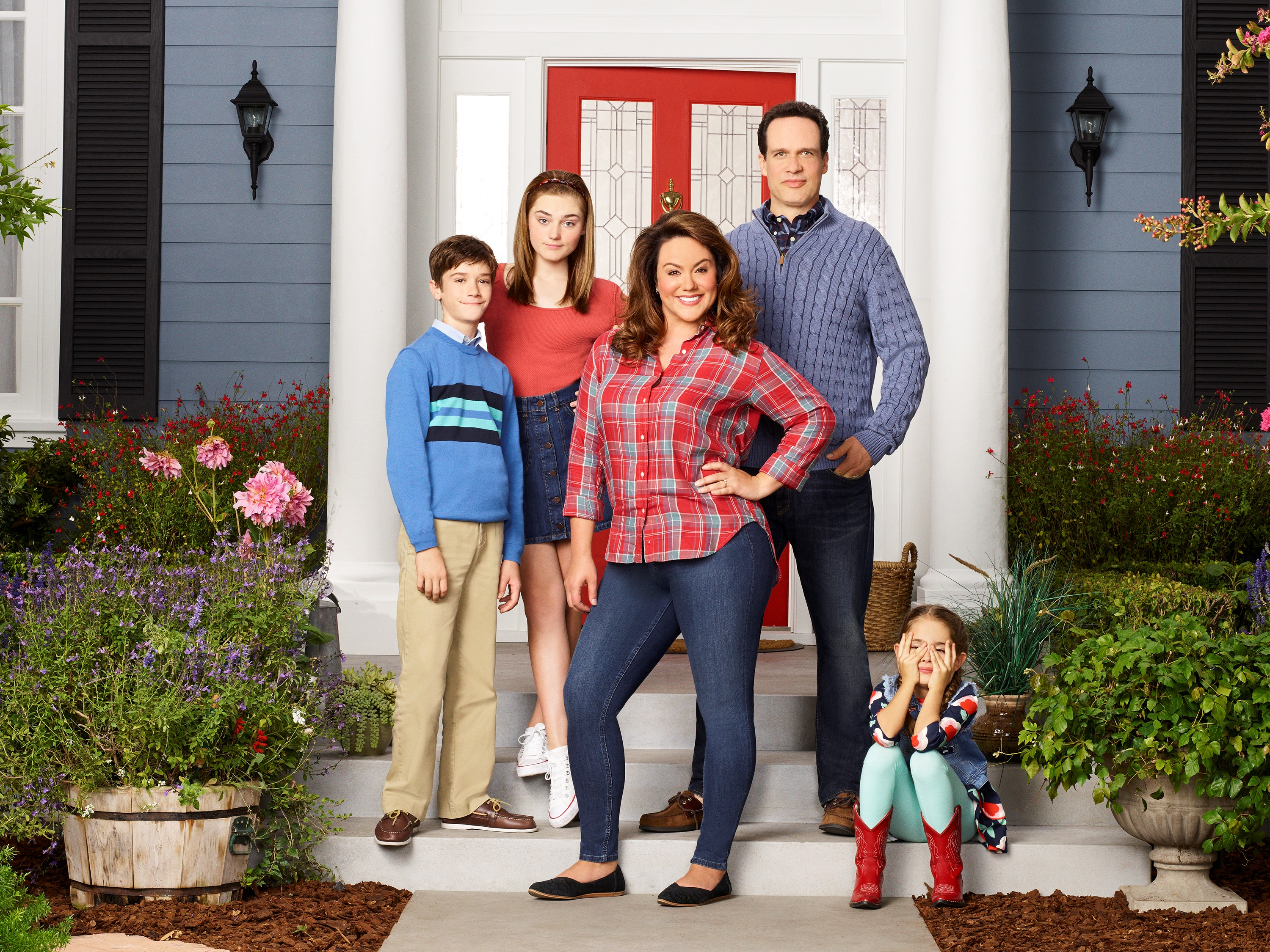 "Cover image for  article: The American Husband of ""American Housewife"" on Playing a TV Dad"