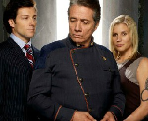 "Cover image for  article: ""Battlestar Galactica"": An Unprecedented Farewell to a Groundbreaking Sci Fi Drama"