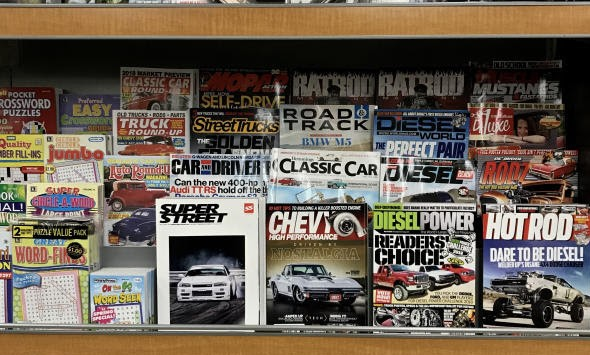 Cover image for  article: The Last Days of the Print Car Magazine