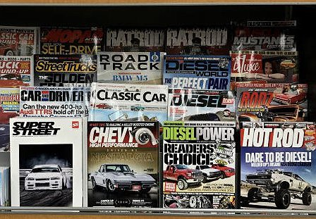 The Last Days of the Print Car Magazine