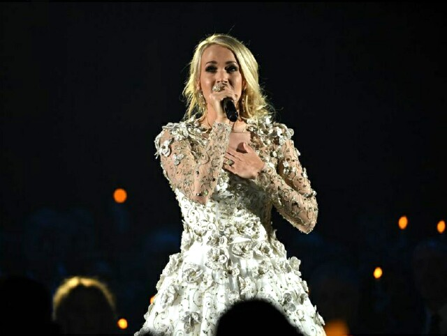 Cover image for  article: Carrie Underwood's Performance at the CMA Awards: Top 25 Programs of 2017 -- No. 19