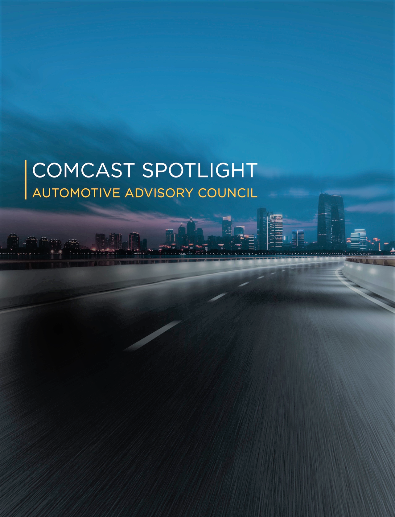 Cover image for  article: Driving TV Ad Spend with Comcast Spotlight's Automotive Advisory Council
