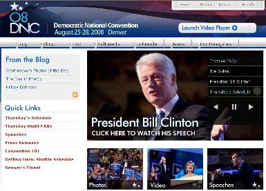 Cover image for  article: DemConvention.com -- A Fantastic User Experience - The Shelly Palmer Report
