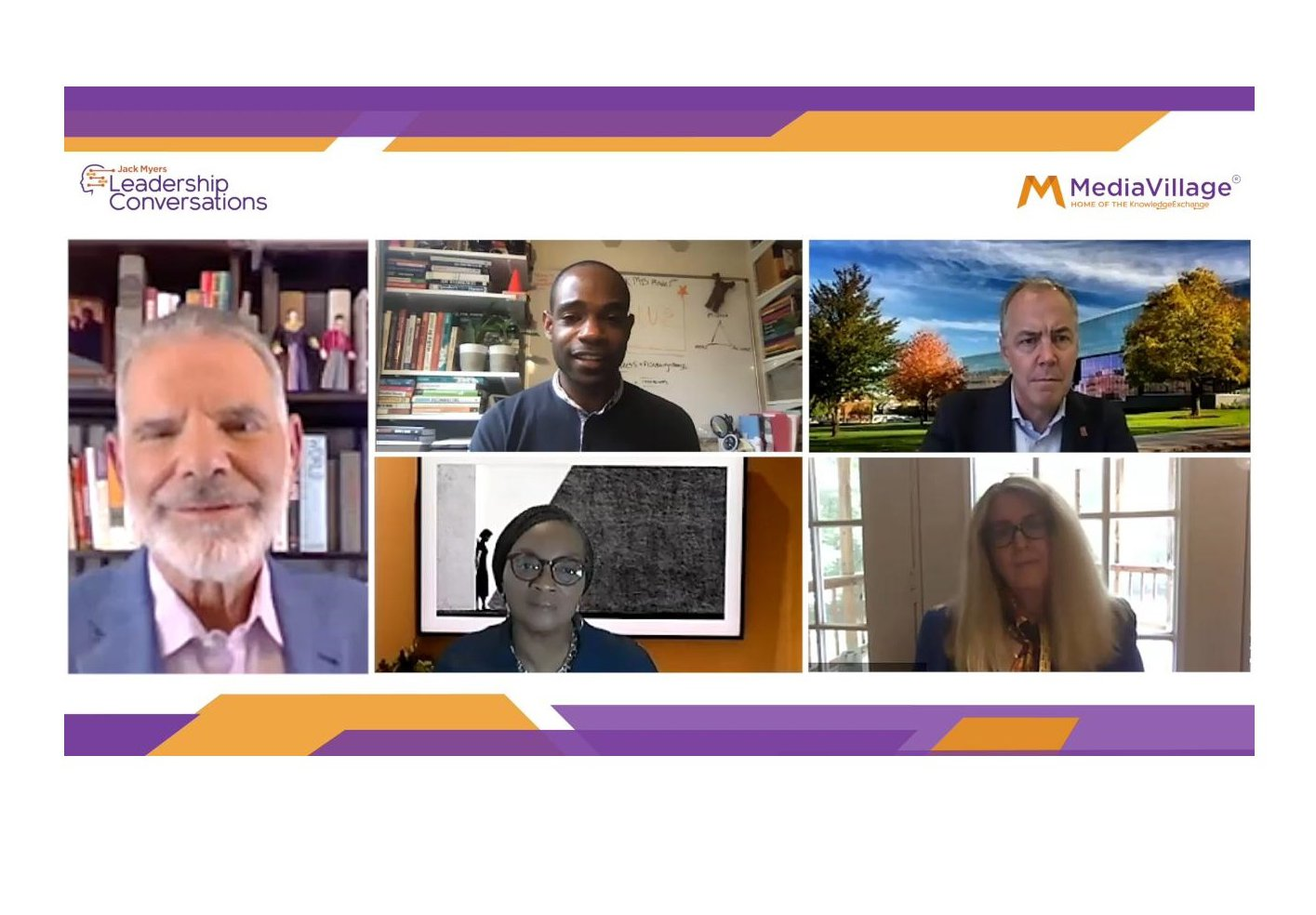 Watch Now: Newhouse School, Howard University and UVA Deans, Plus blacklist100 Founder Kai Wright Join Media Education Summit logo