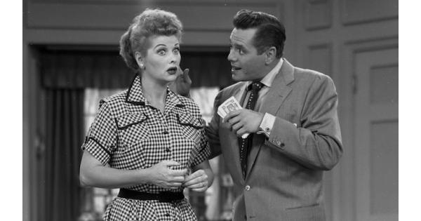 "Cover image for  article: HISTORY'S Moments in Media: Launching a Legend With ""I Love Lucy"""