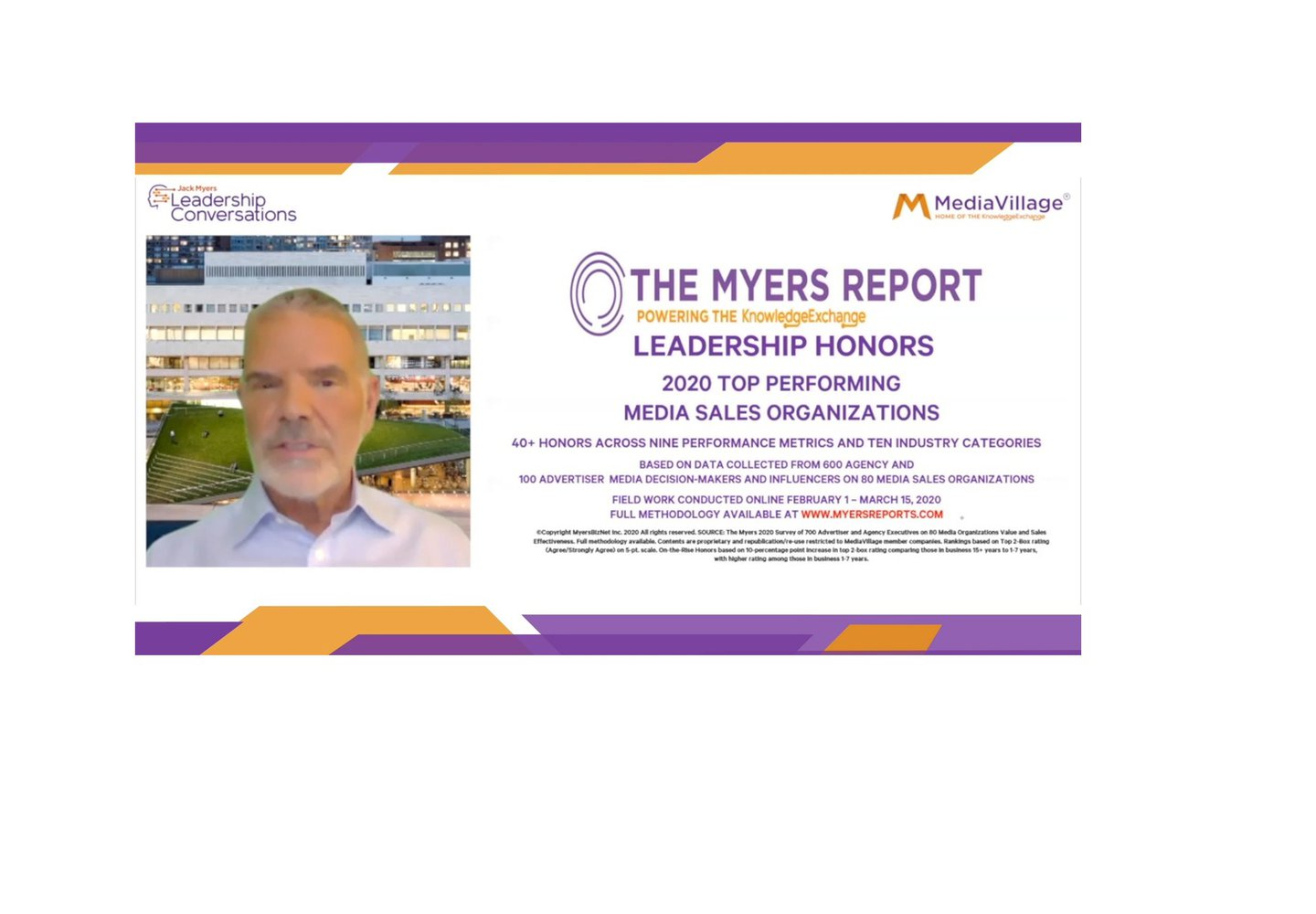 Watch Now: The Myers Report to the Media Industry logo
