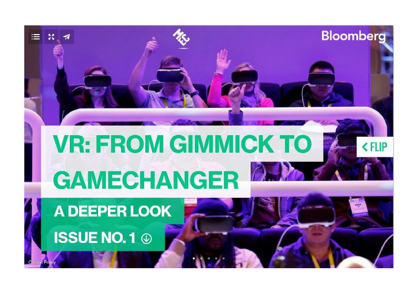 VR: From Gimmick to Gamechanger