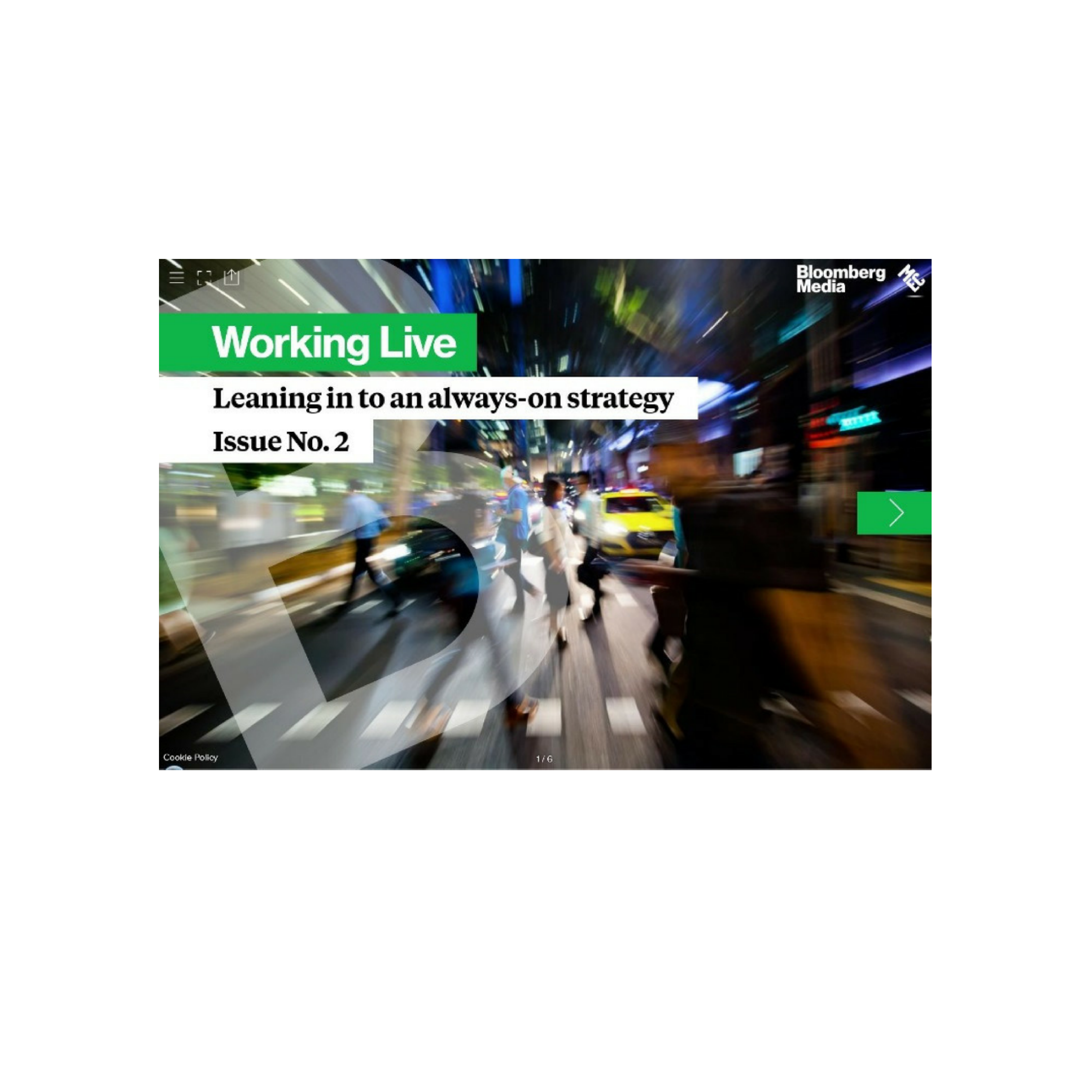 Cover image for  article: Working Live: Lean in to an Always-On Strategy
