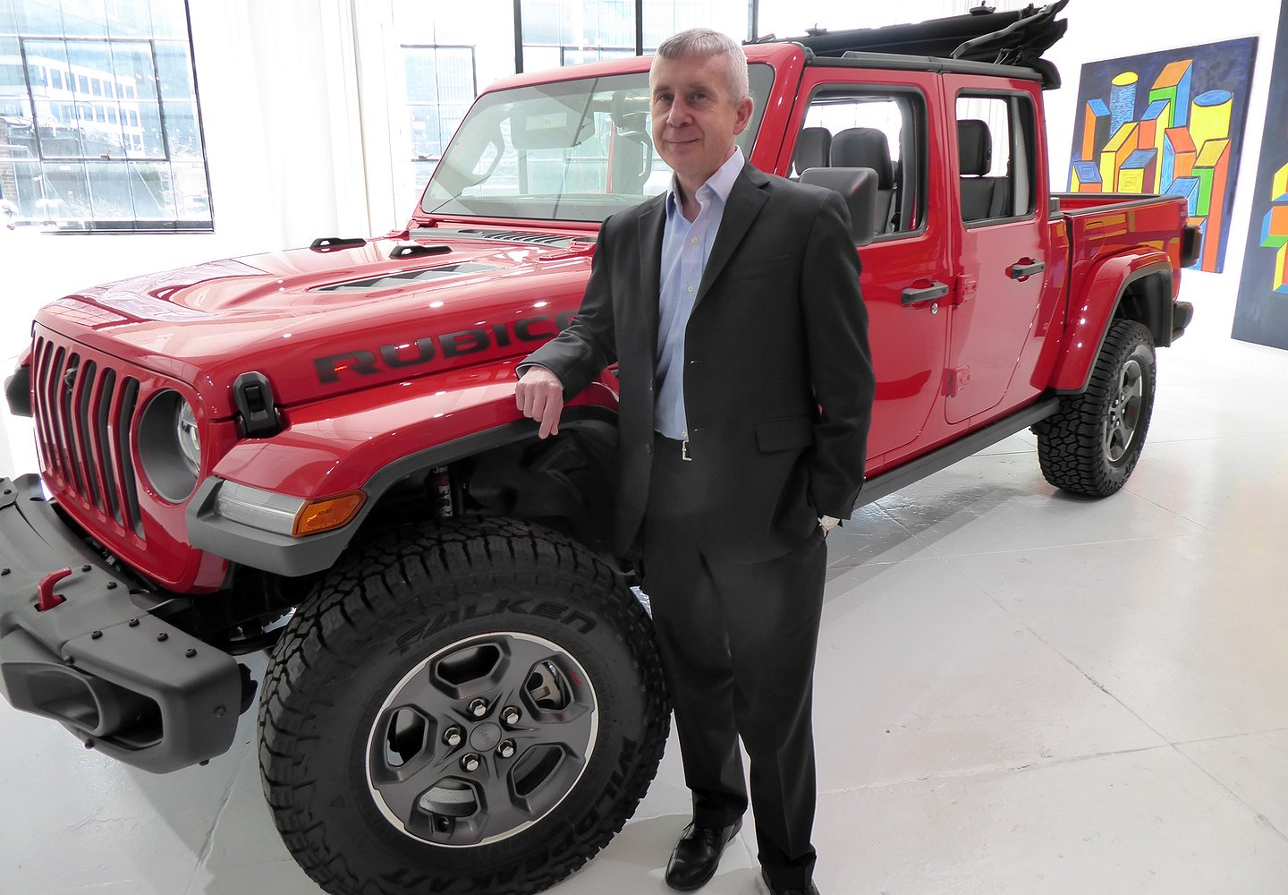 Jeep's Marketing Manager: It's the Real SUVs Versus the Pretenders