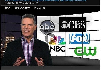 2012 Myers Advertising and Marketing Spending Forecast - Jack Myers Video Report