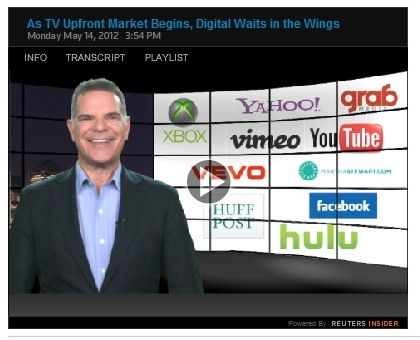 Cover image for  article: As TV Upfront Market Begins, Digital Waits in the Wings