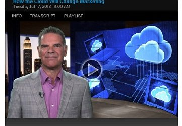 How the Cloud Will Change Marketing