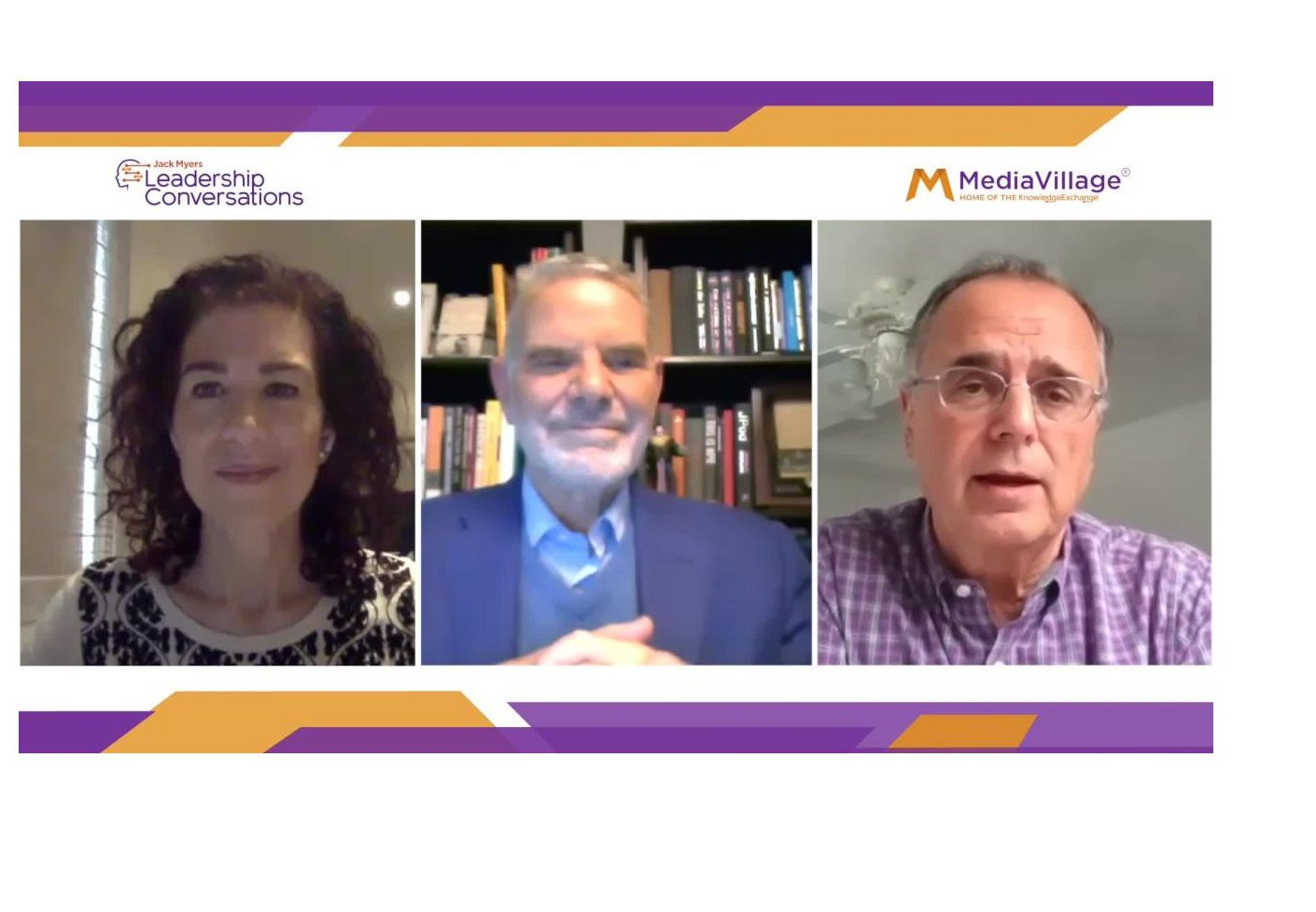 Watch Now: Joining Together for Growth -- Jack Myers with ANA's Bob Liodice and 4A's Marla Kaplowitz -- ZOOM Conversation logo