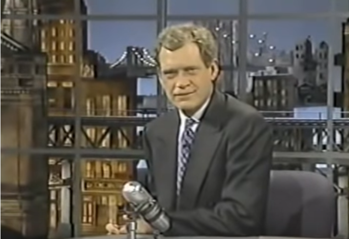 "Cover image for  article: HISTORY's Moment in Media: ""It's The Late Show with David Letterman!"""