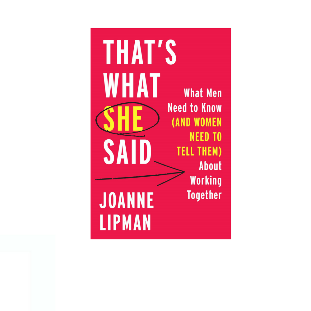 Cover image for  article: That's What She Said: What Men Need to Know (and Women Need to Tell Them) About Working Together
