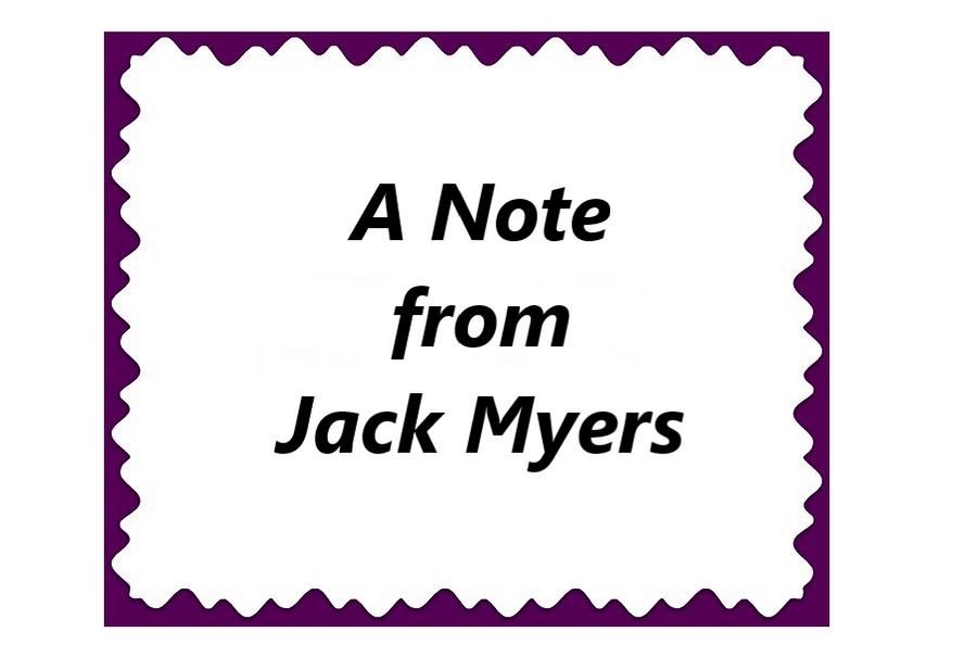 Advancing Diversity Note from Jack Myers