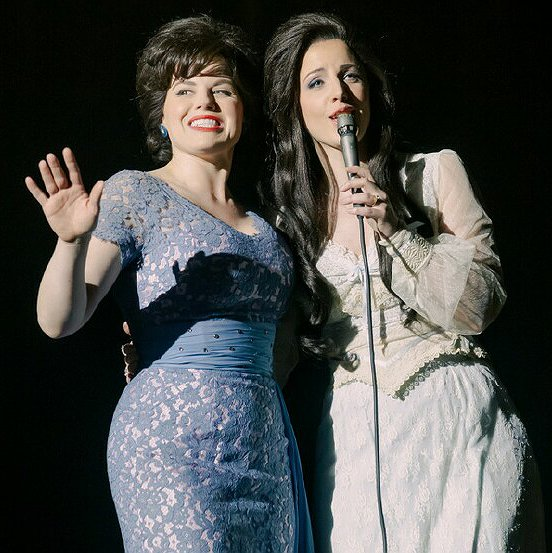 "Preview image for article: Megan Hilty and Jesse Mueller Reflect on Playing Country Legends in ""Patsy & Loretta"""