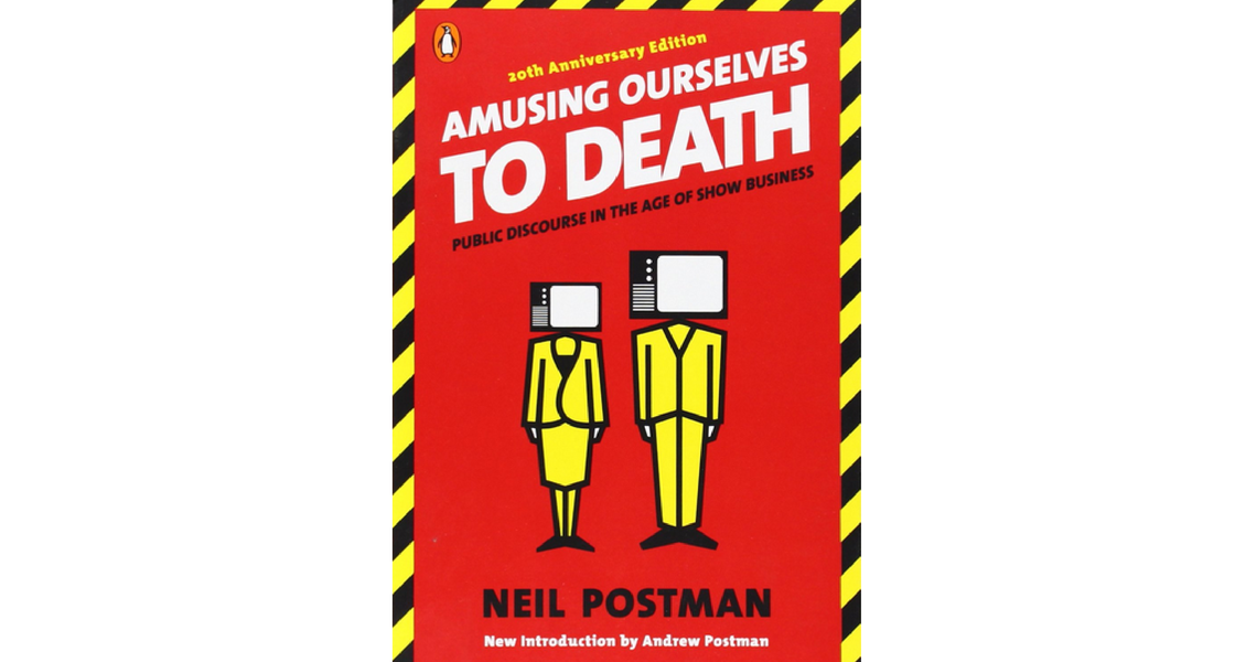 an analysis of neil postmans amusing ourselves to death public disclosure in the age of show busines