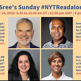 Preview image for article: Watch on Demand: @Sree's #NYTReadalong with Jack Myers