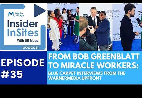 From Bob Greenblatt to Miracle Workers: Blue Carpet Interviews from the WarnerMedia Upfront