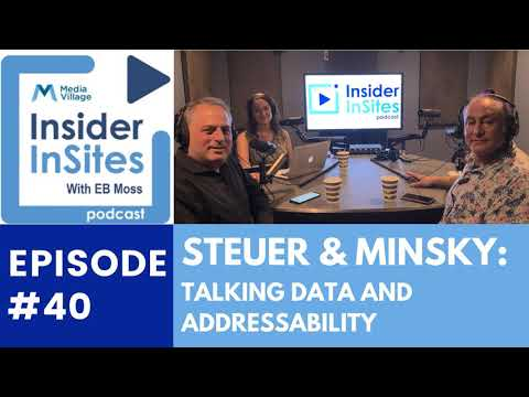Cover image for  article: Steuer and Minsky: A Mind Meld on Omnicom, Advanced TV, and Data – Insider InSites Podcast